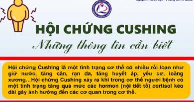 Hội chứng Cushing – Những thông tin cần biết